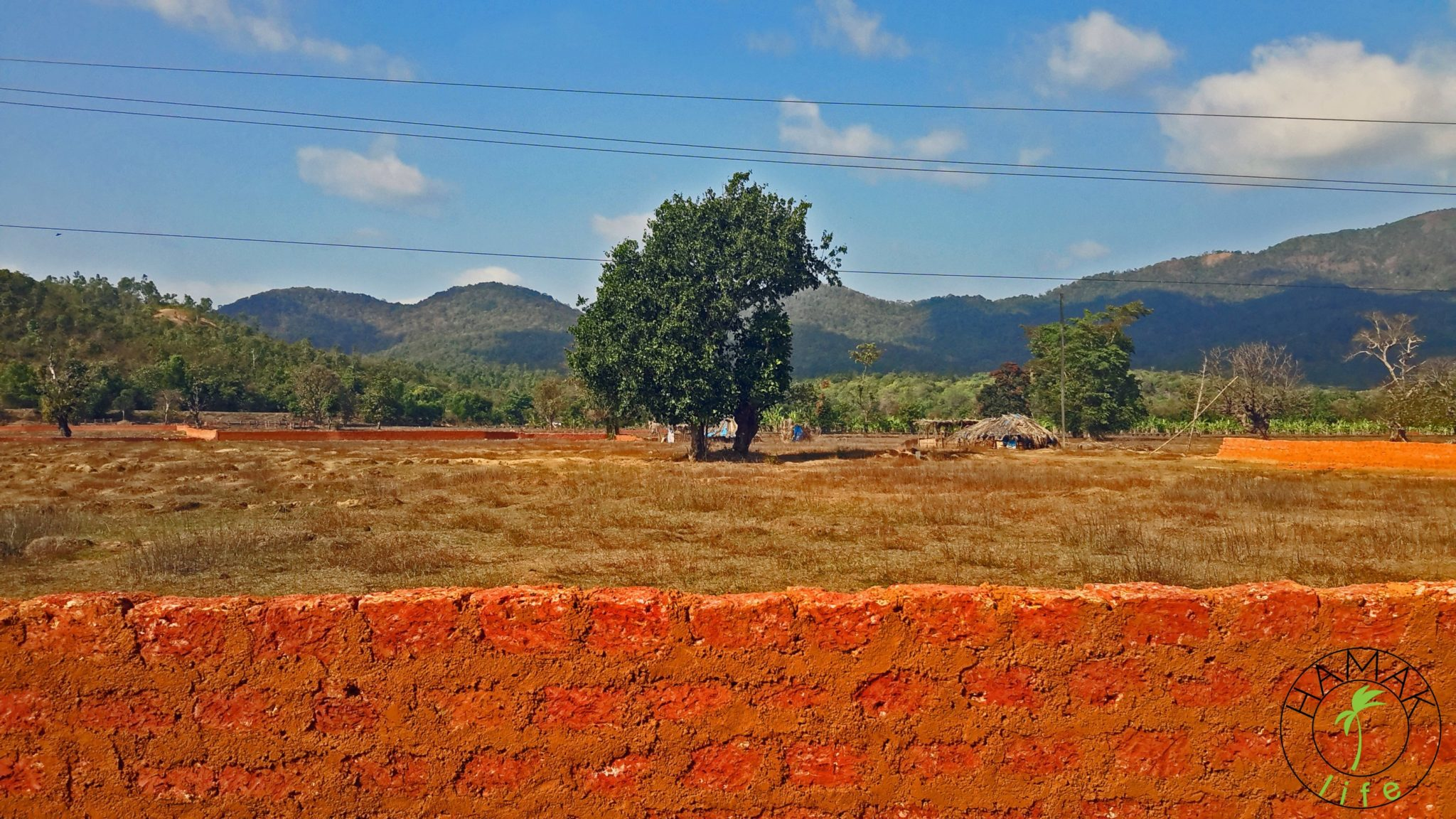 Widoki na Goa.