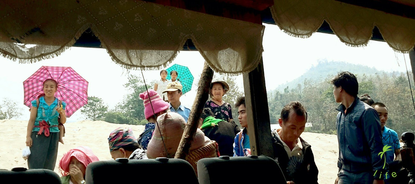 Slow boat, Laos 2015