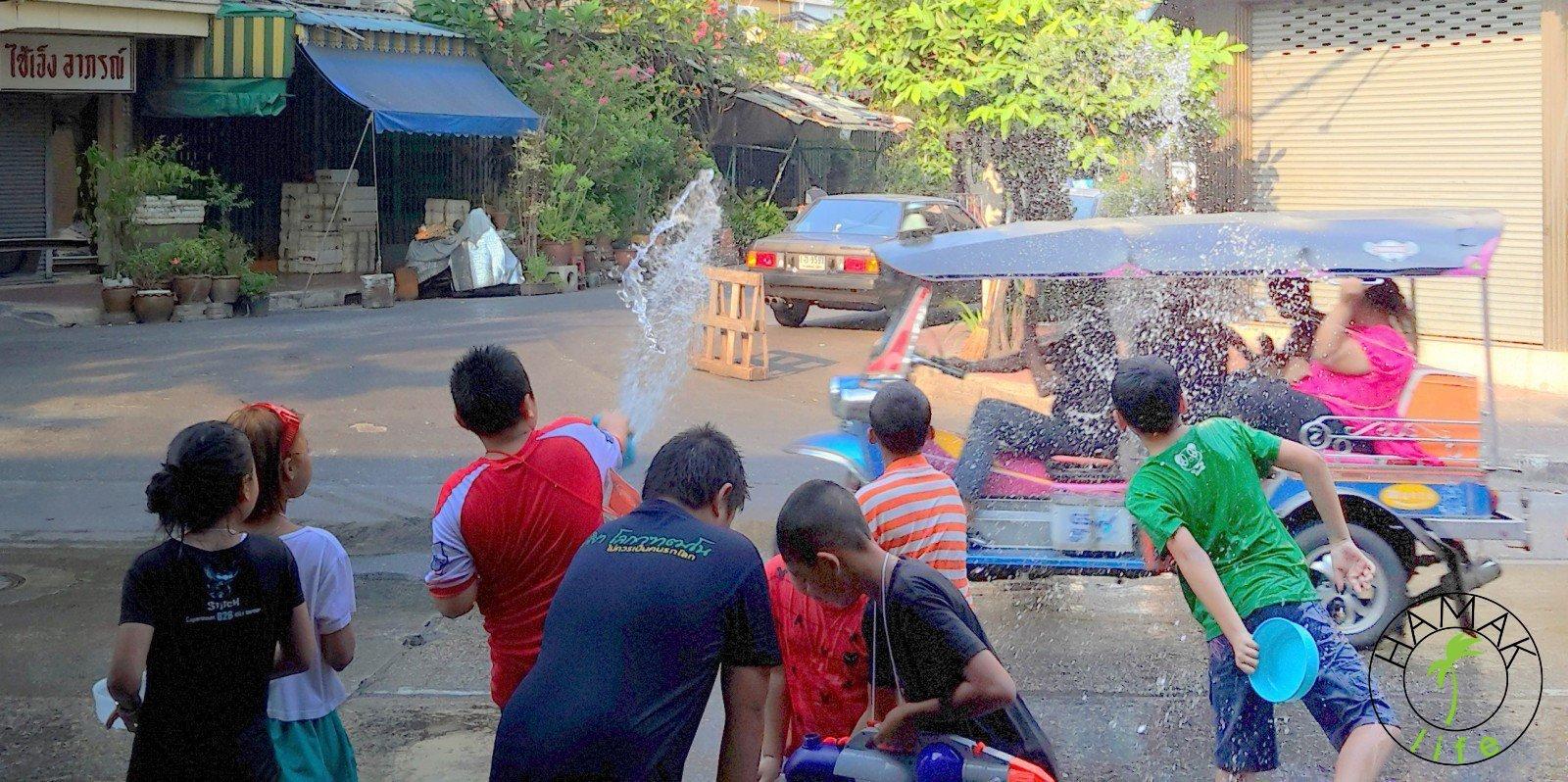 Songkran Festival, czyli Nowy Rok w Bangkoku