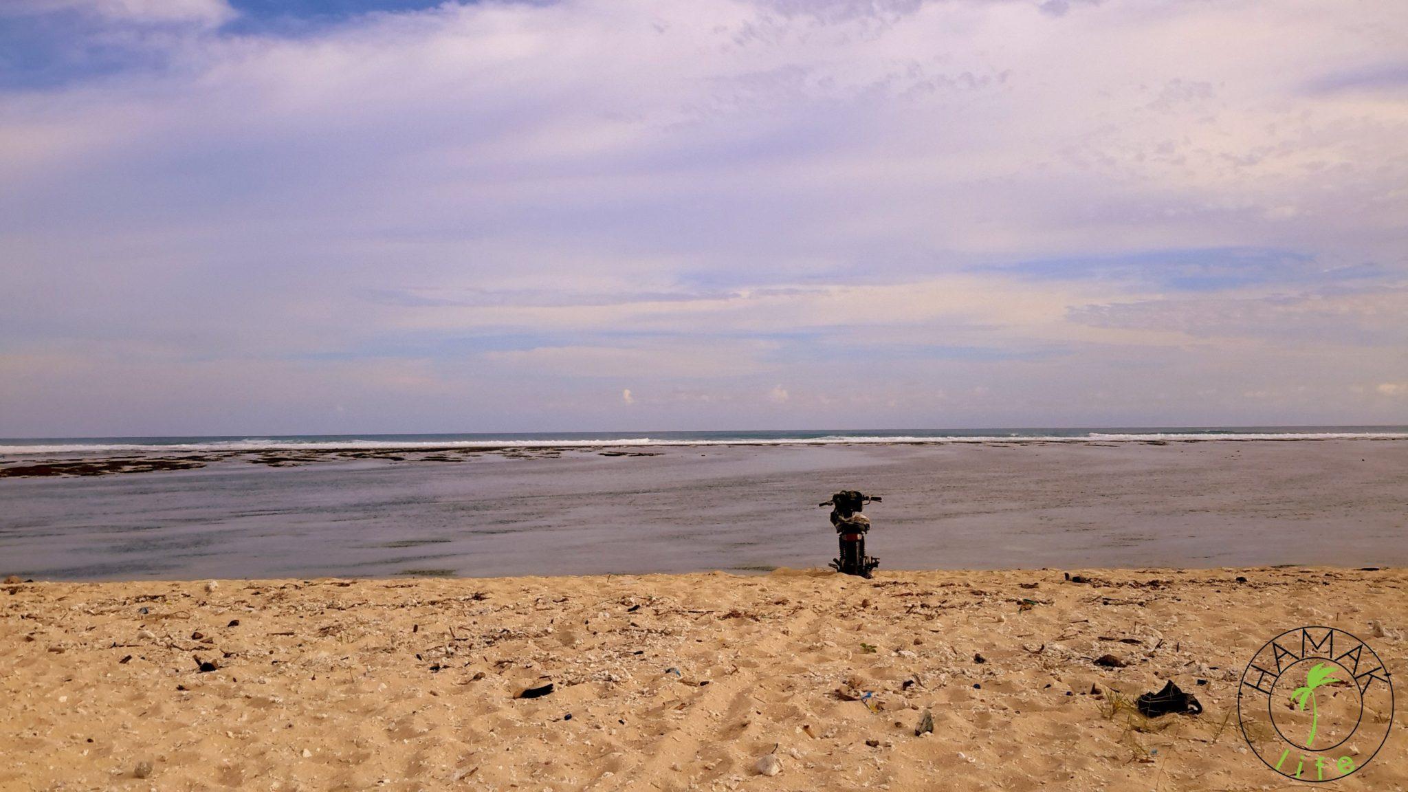 Plaża na Lombok