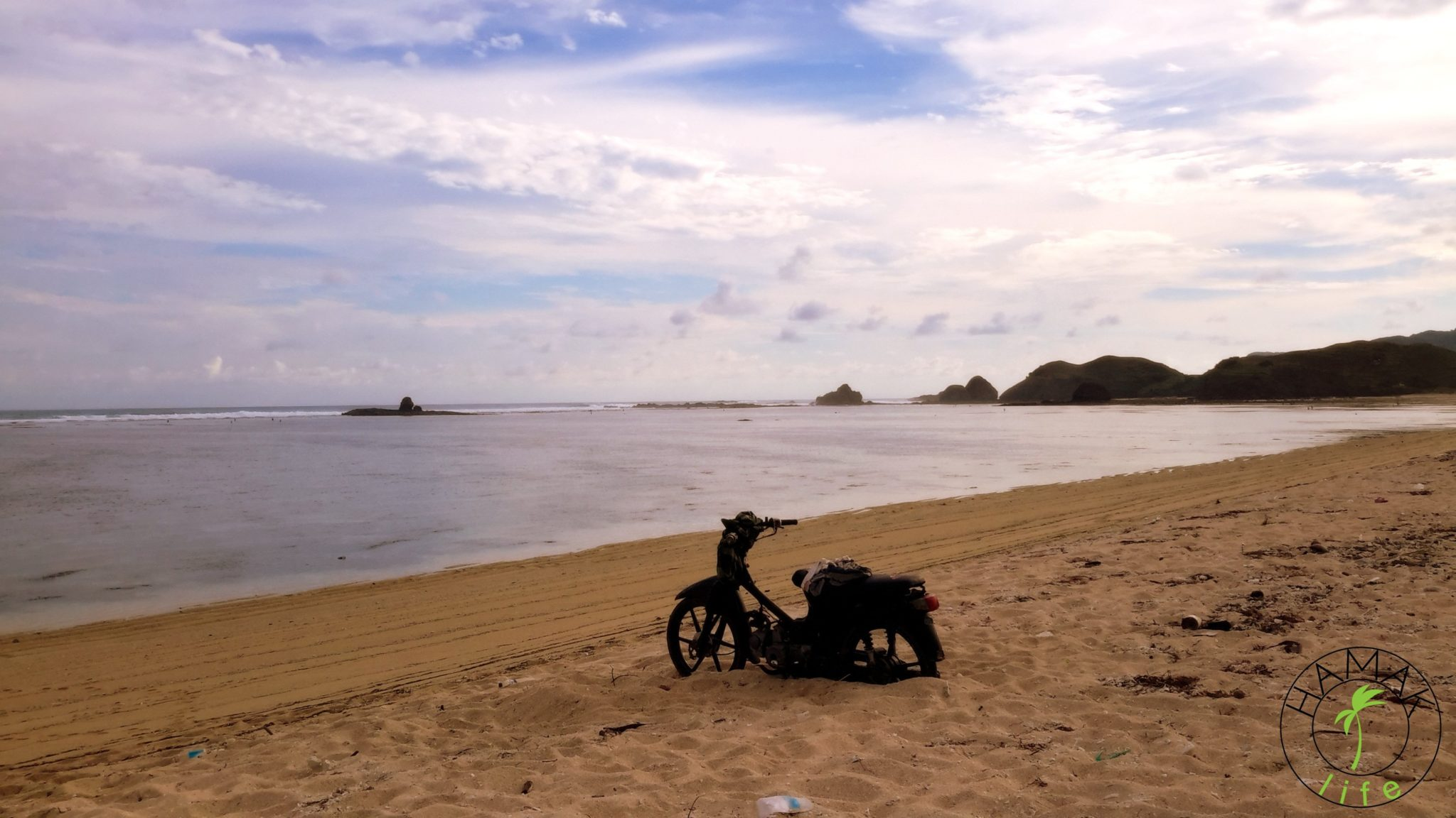 Trudno dostępne plaże na Lombok