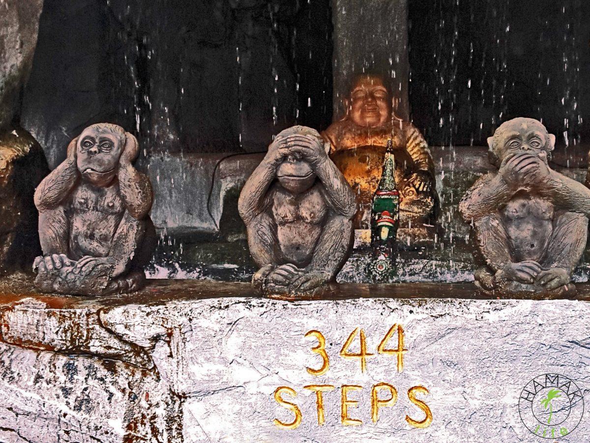 Bangkok 344 schody światyni