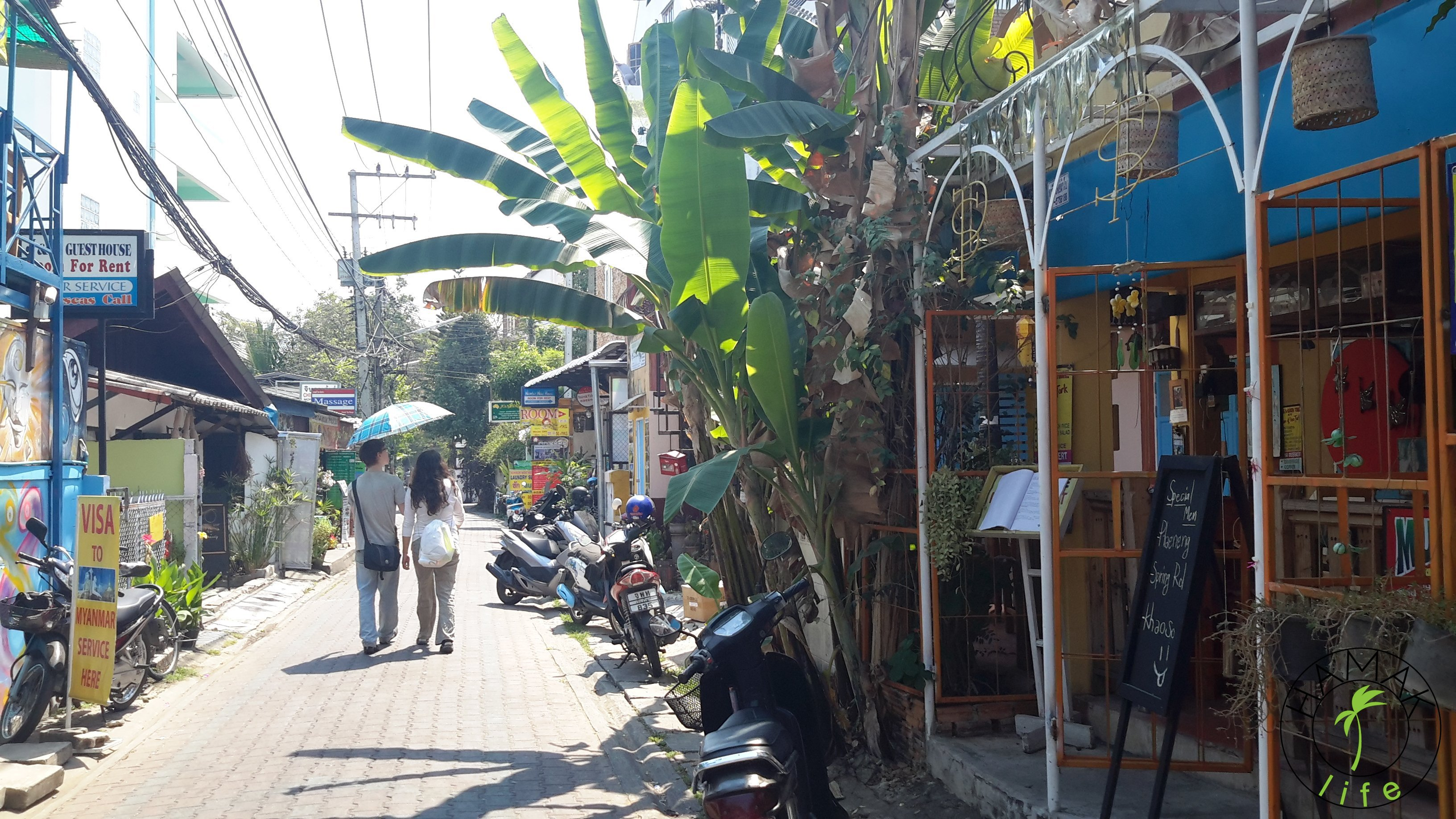 Old Town in Chiang Mai, Thailand 2015