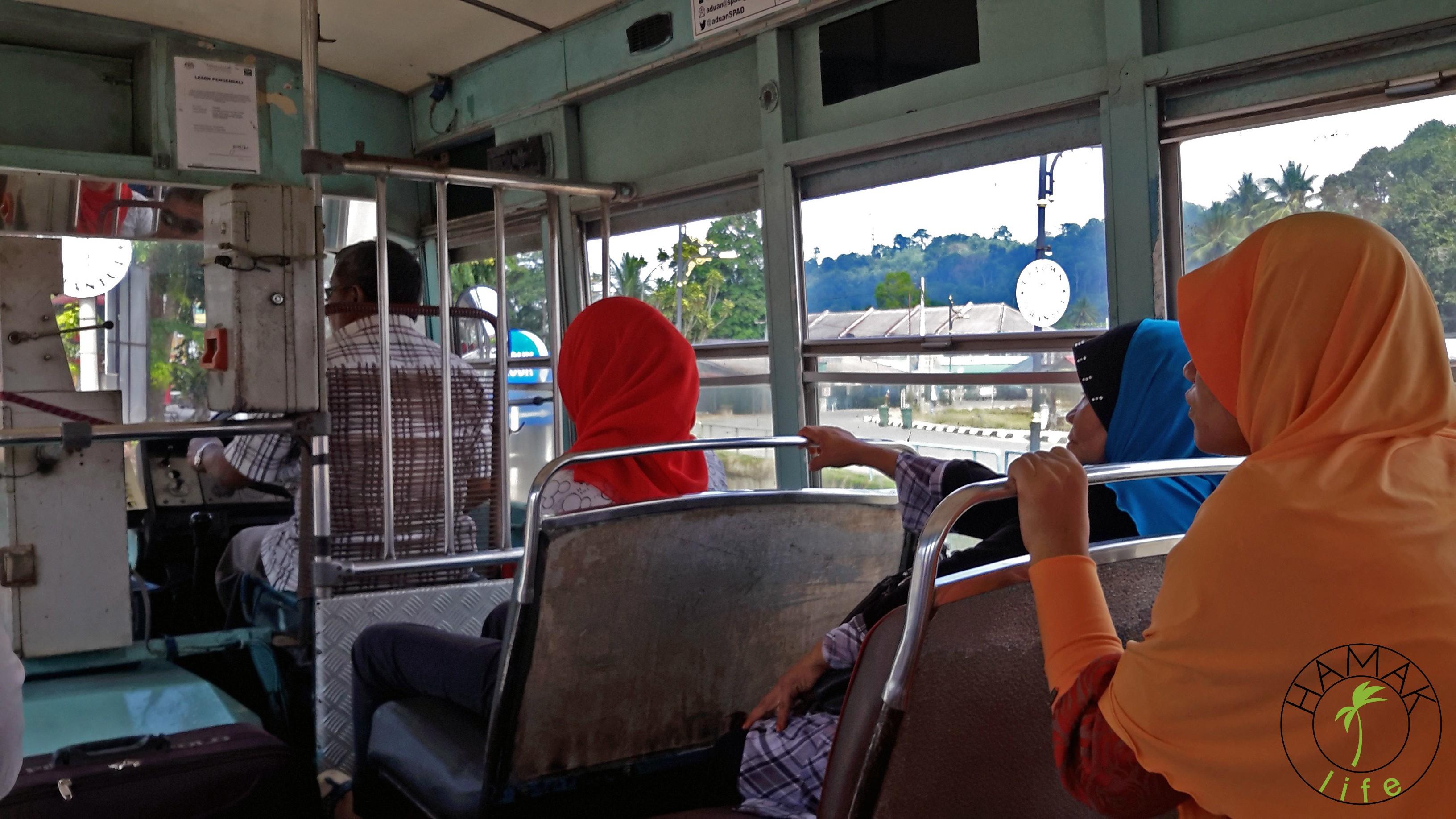 Autobus lokalny w Malezji