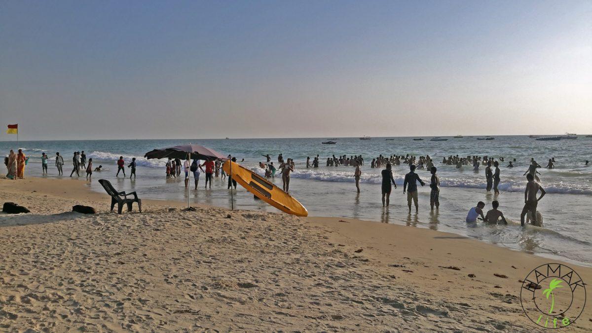 Hinduskie plaże na Goa albo w Kerali.