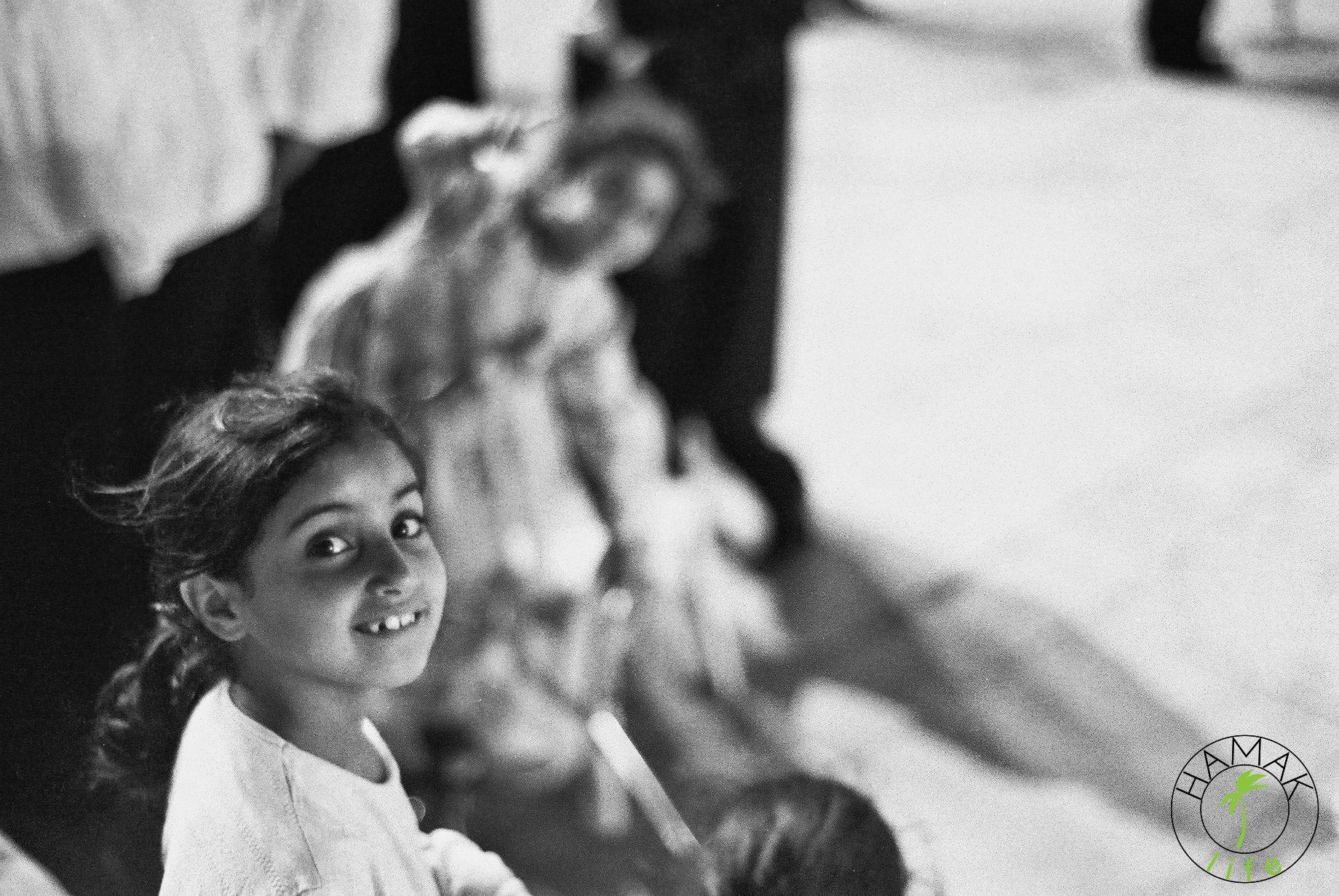 Dzieci pod Ścianą Płaczu w Jerozolimie