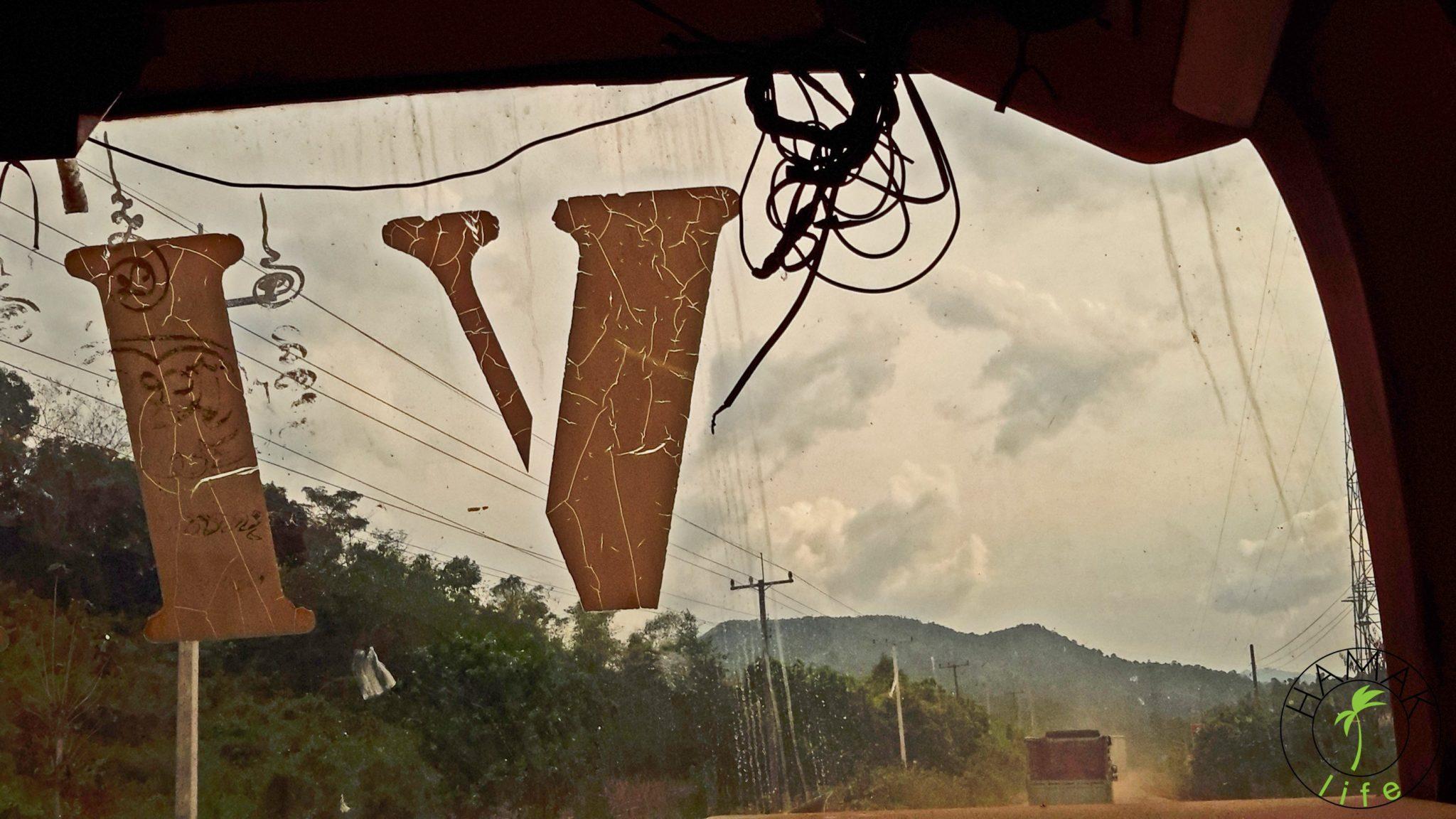 Autobusem w Laosie