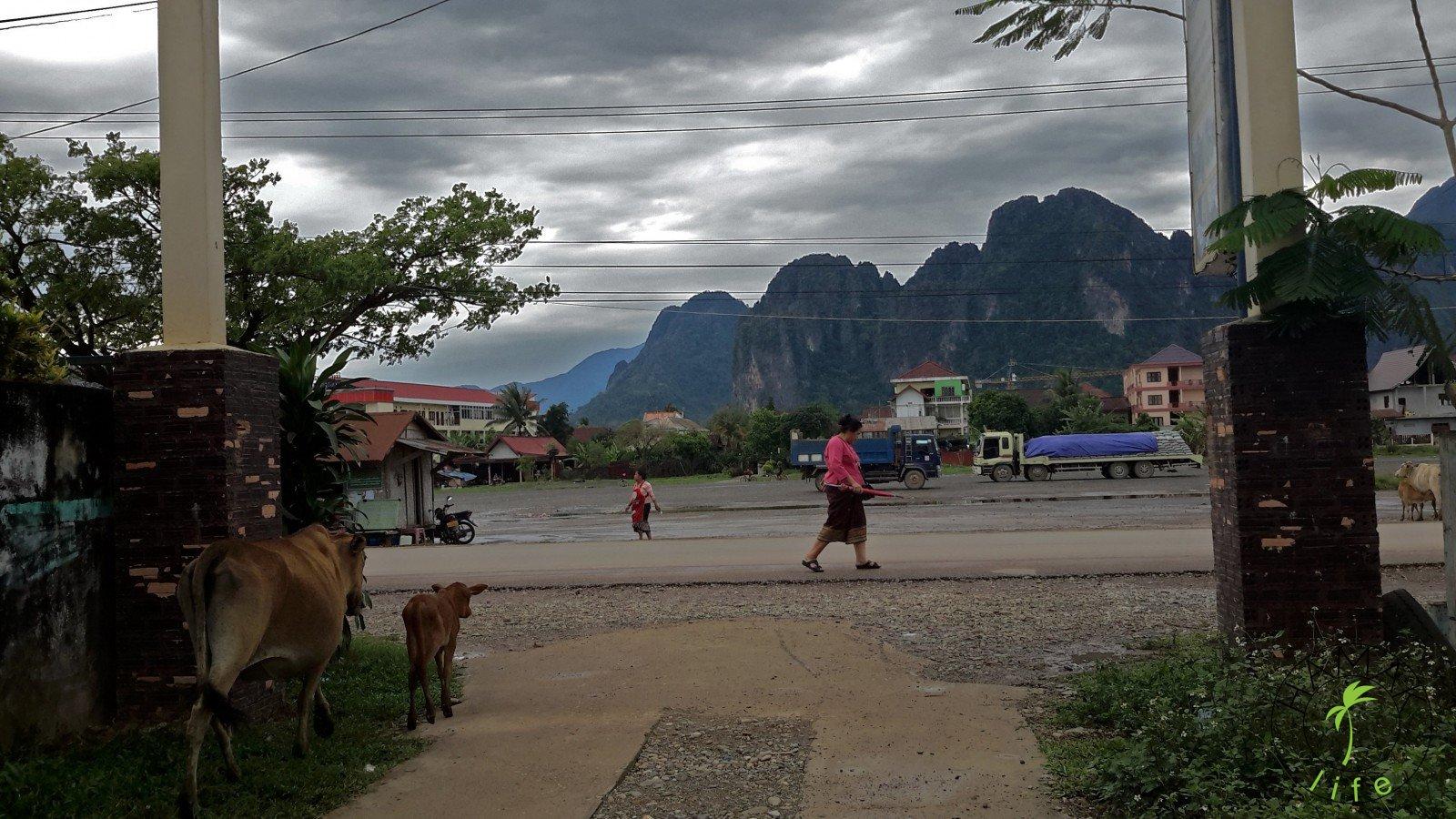 Laos 2015, Vang Vieng