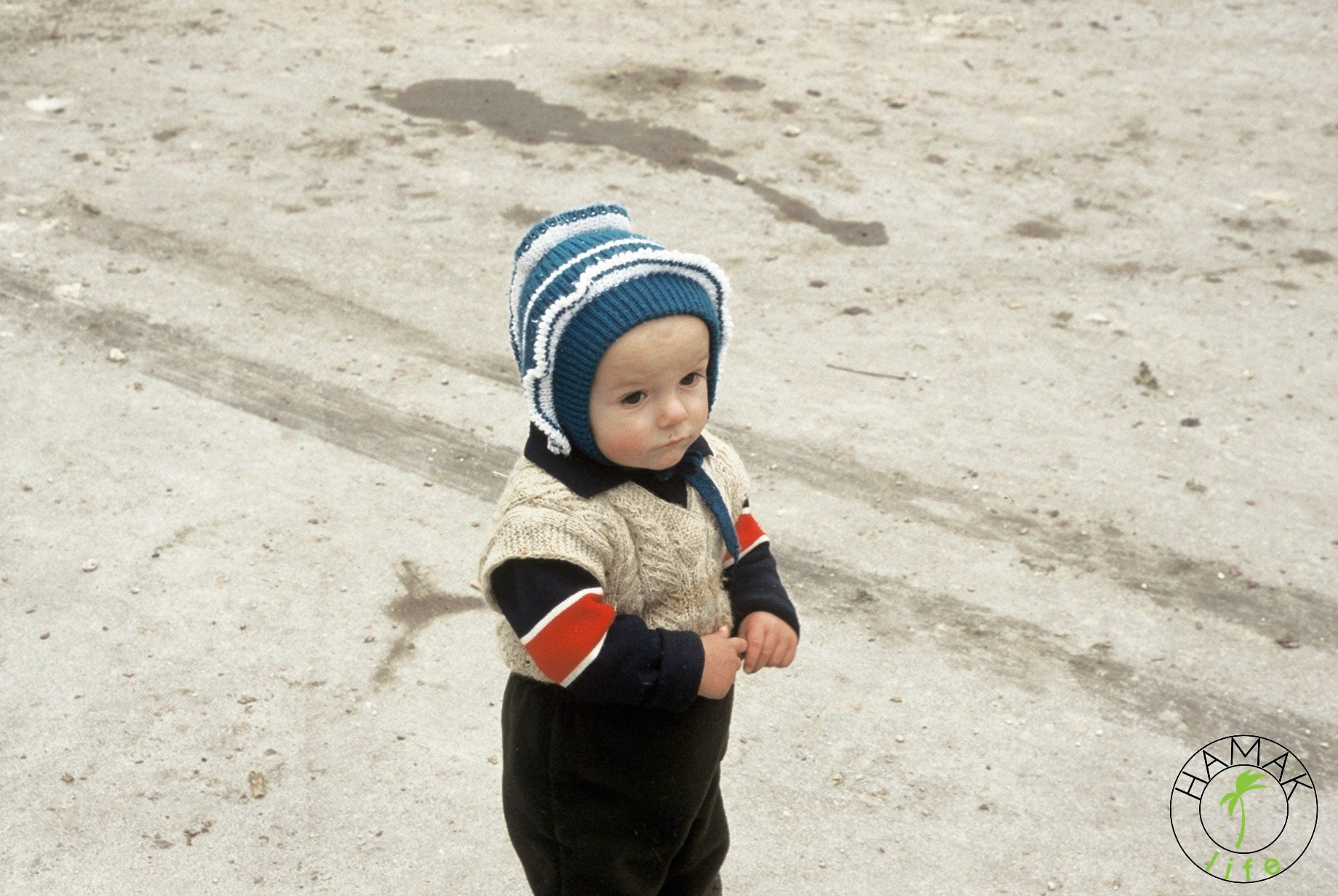 Reportaż z wioski w Mołdawii. Dziecko.