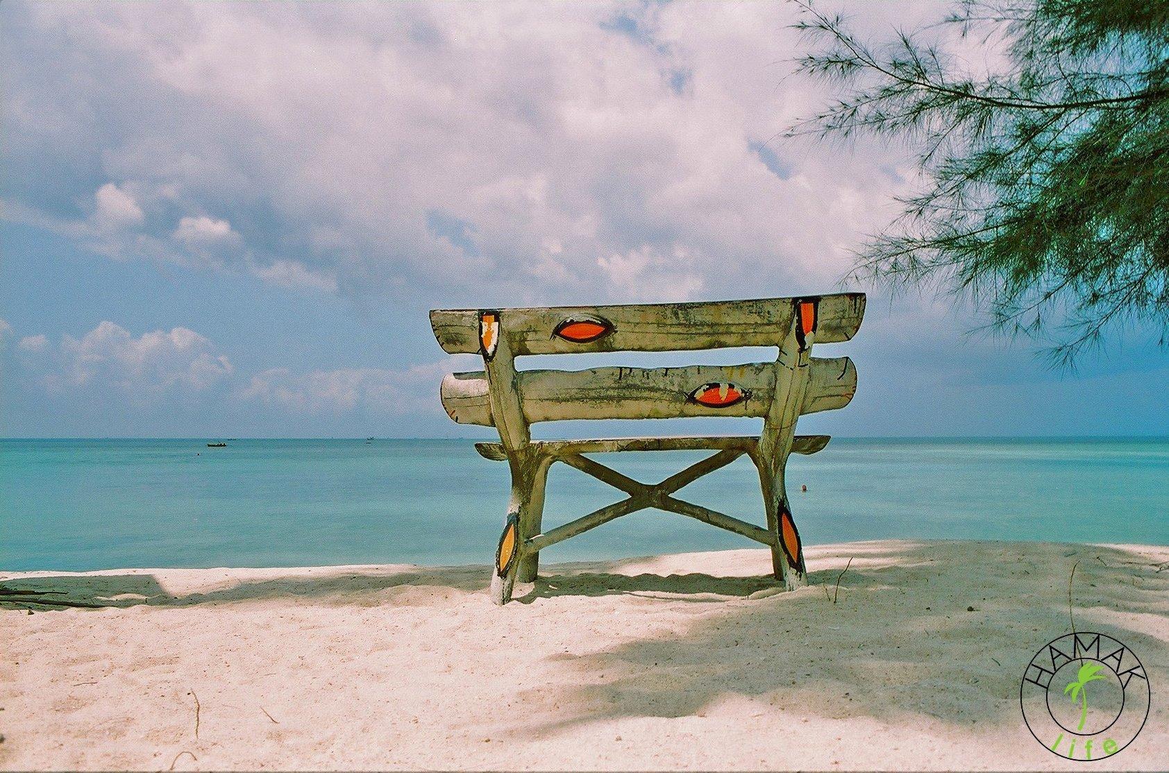 Plaża na Ko Phangan.