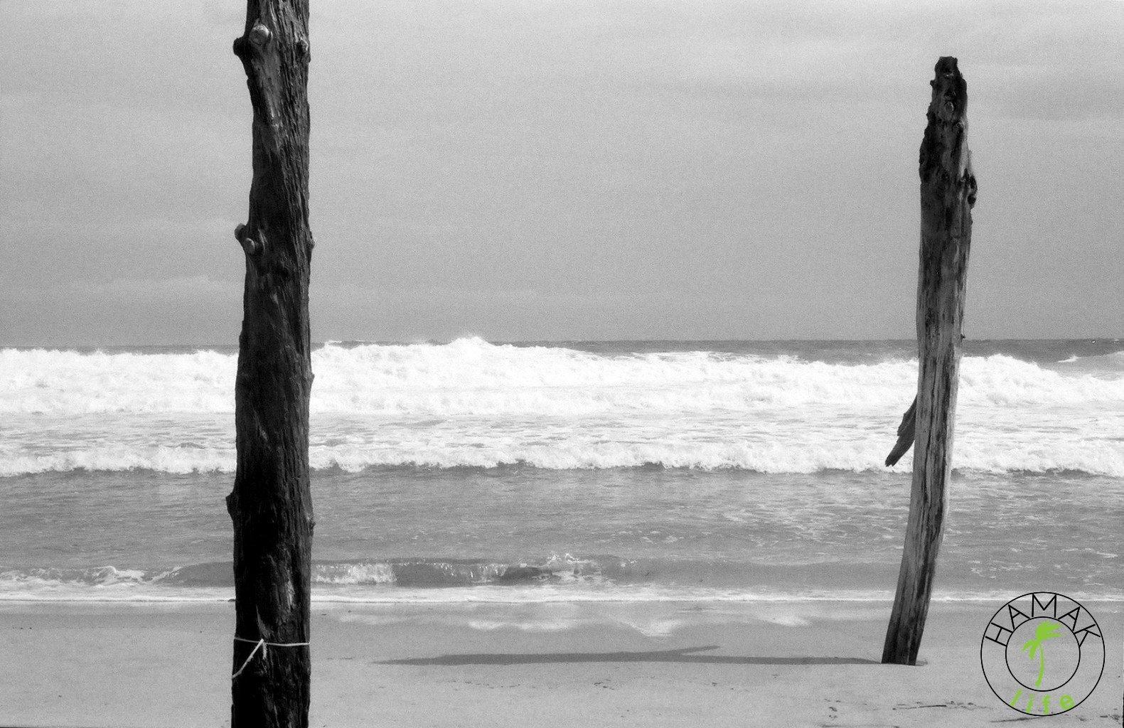 Pusta plaża na Korsyce