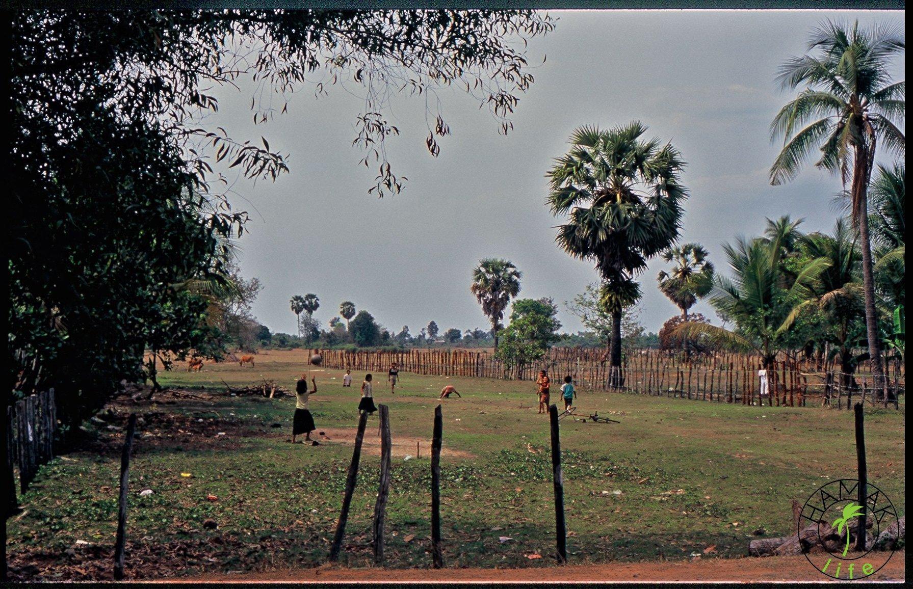Muzeum Plac zabaw naprzeciwko Min Lądowych w Kambodży
