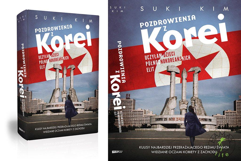 Pozdrowienia z Korei, okładka książki