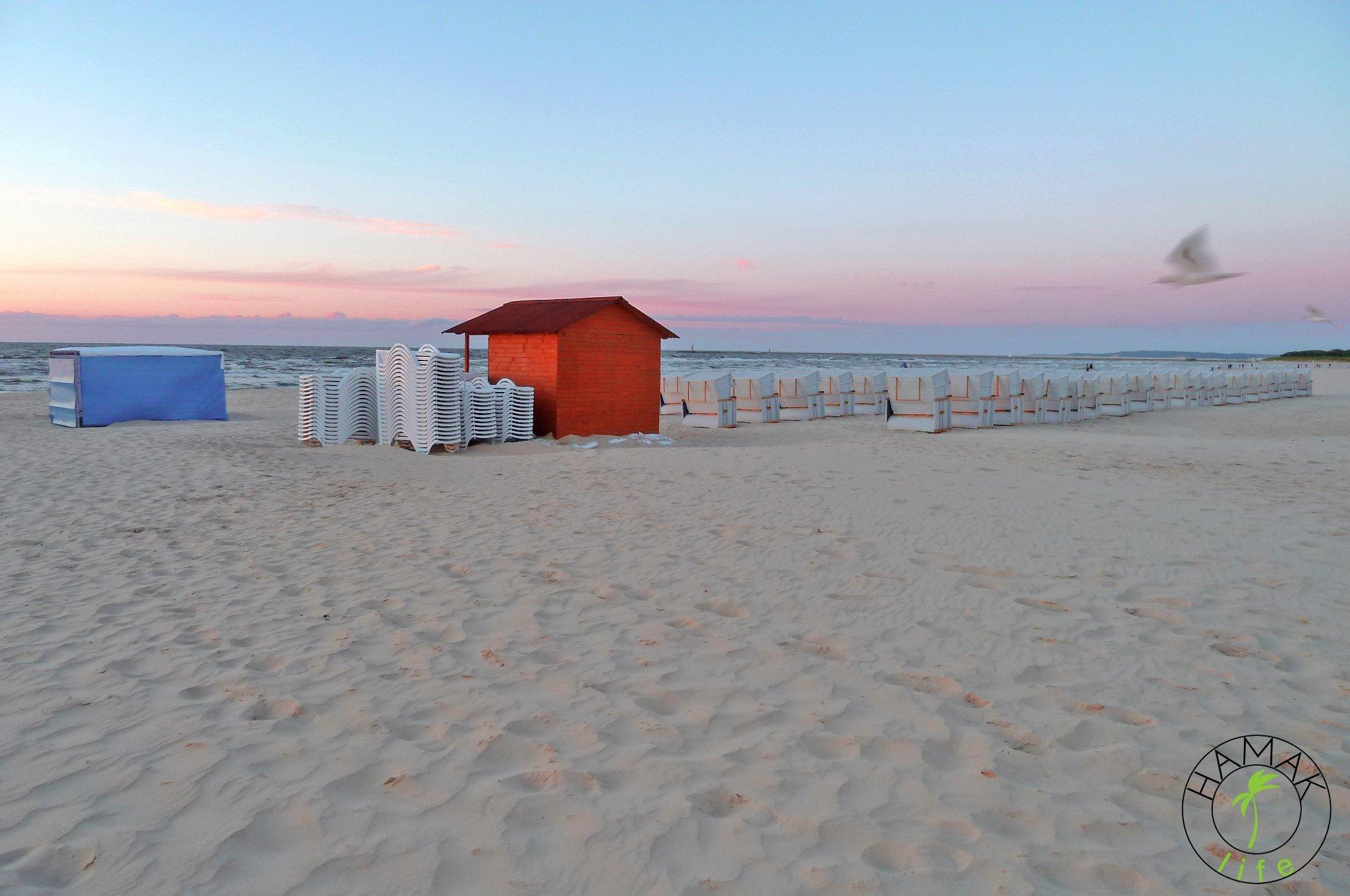 Świnoujście plaża przed sezonem