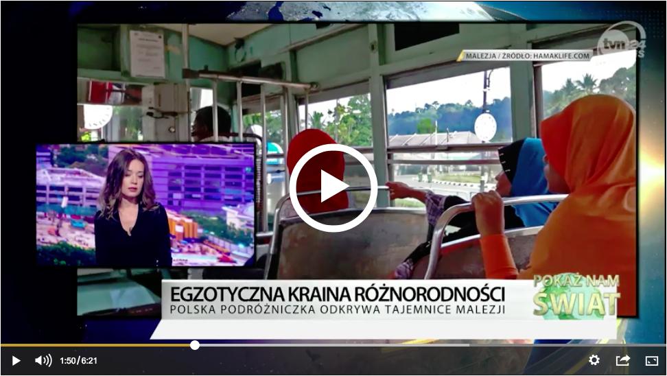 Hamak Life w TVN24BiŚ o Malezji