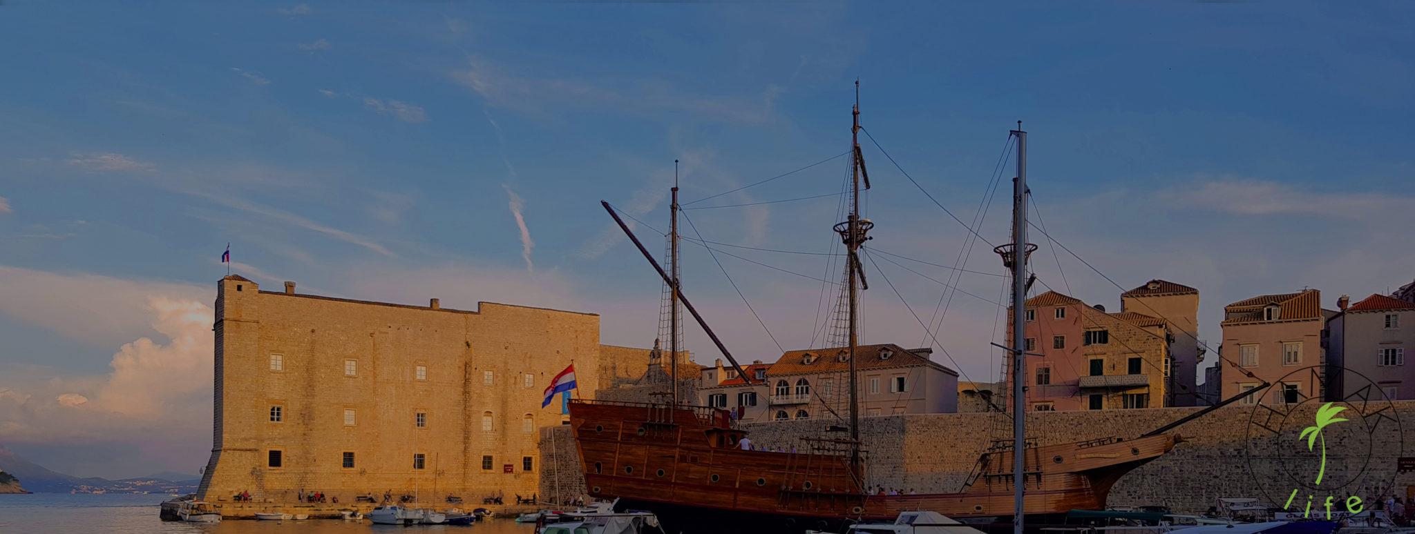 Dubrownik port
