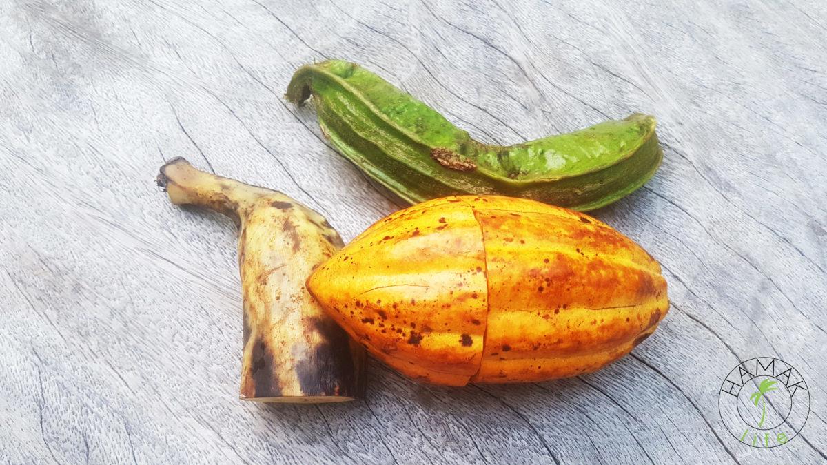 Owoc kakaowca, platan i tajemniczy ogórek.