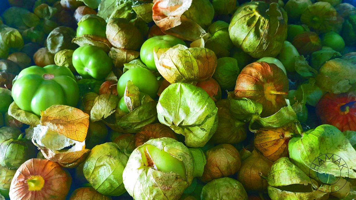 Uchuva, z której również przygotowuje się aquas frescas.