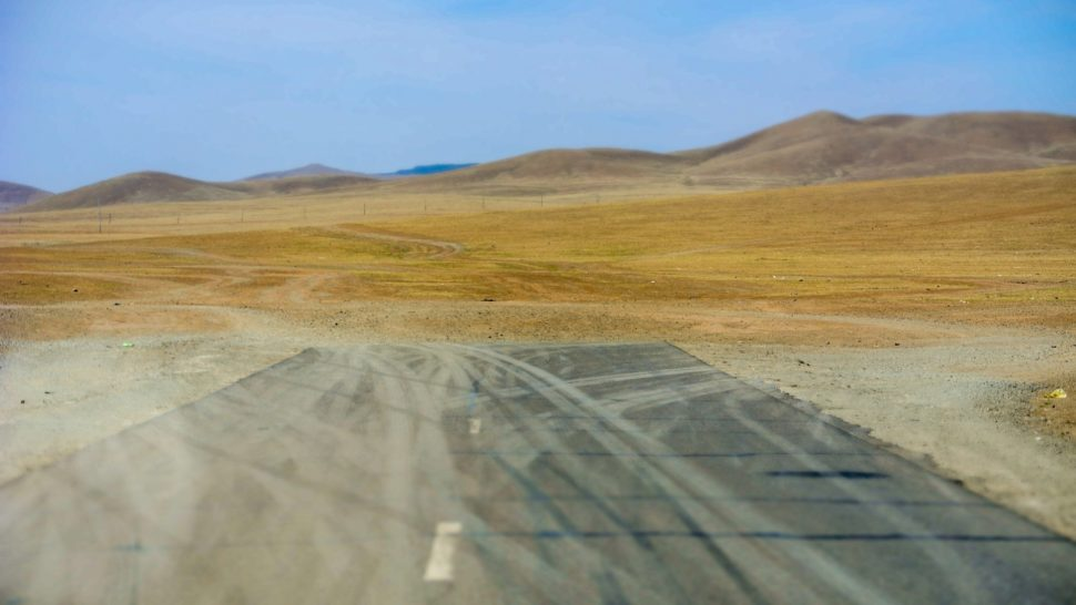 Marek Kamiński w Mongolii